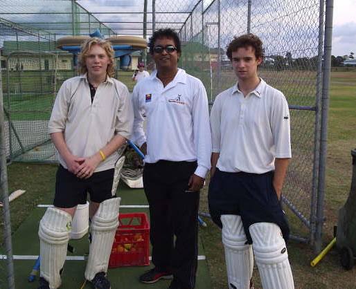 Neil, Hari and Richard