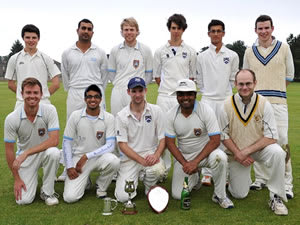 Glasgow Accies CC, CricketScotland Challenge Cup Winners 2012