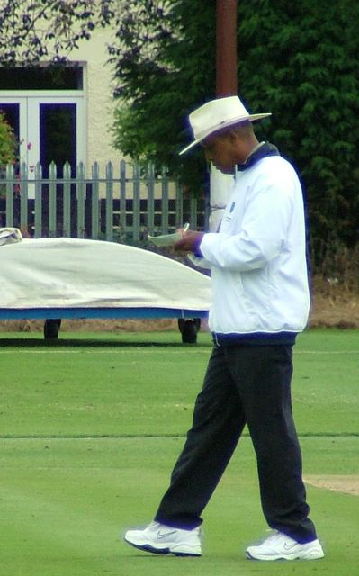 Test Umpiring legend, John Holder.