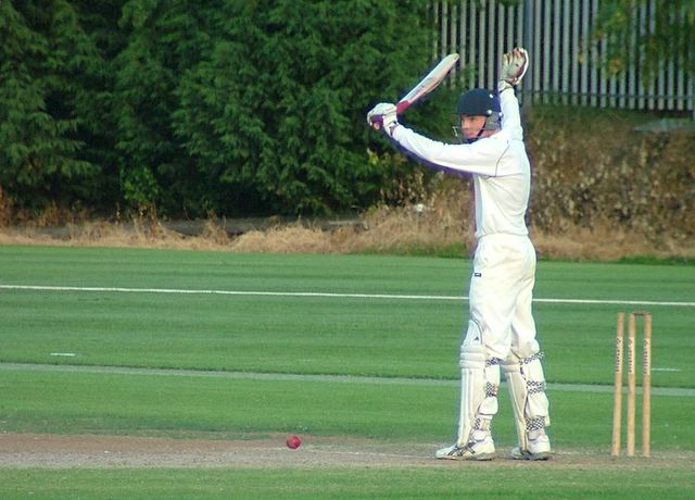 Dodson doesn't like being bowled so decides to stand his ground�
