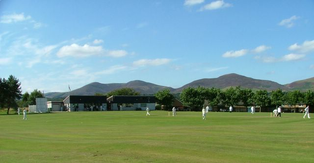 If only we arranged friendlies against Oban and Mid Argyll we could play in this kind of scenery every week!