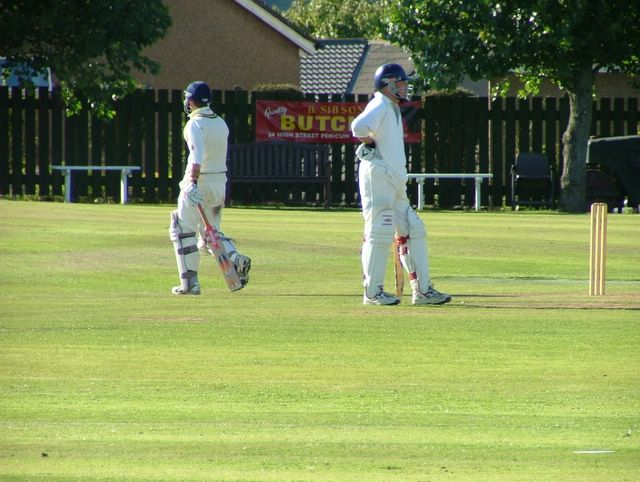 Another Perthshire batsman departs the crease. We must be running out of them by now!